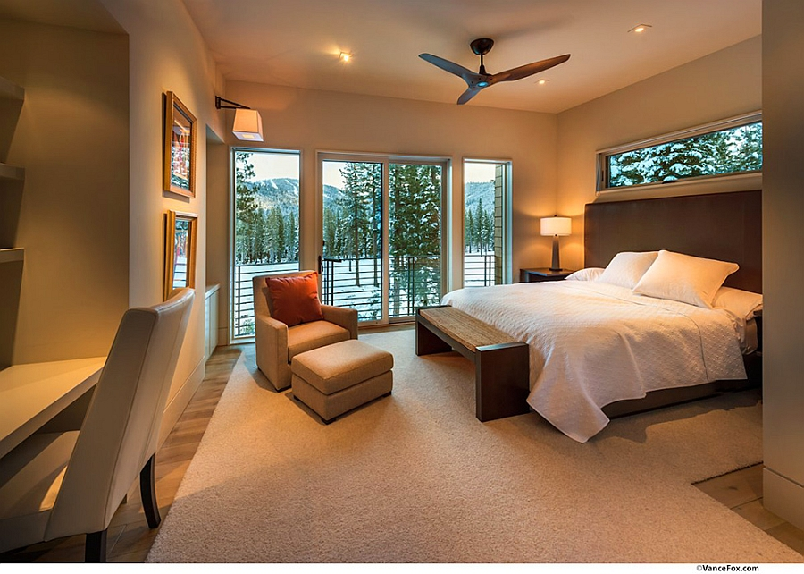 Bedroom with views of the outdoor