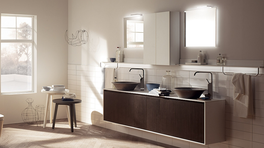 Bowl washbasins add a different visual to your bathroom