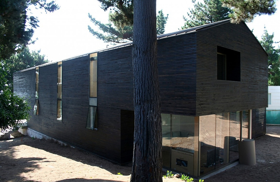 Box-like design of the classic South American house