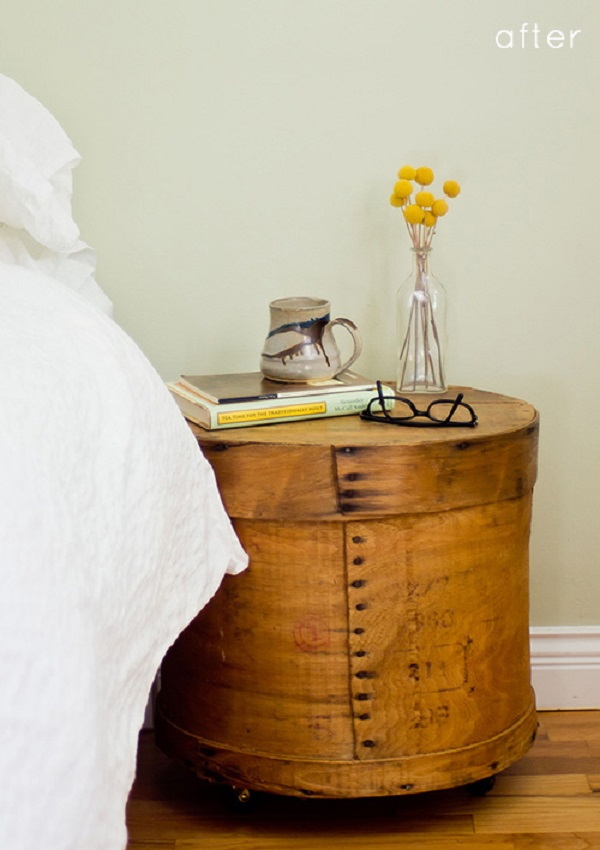 Cheesebox nightstand DIY