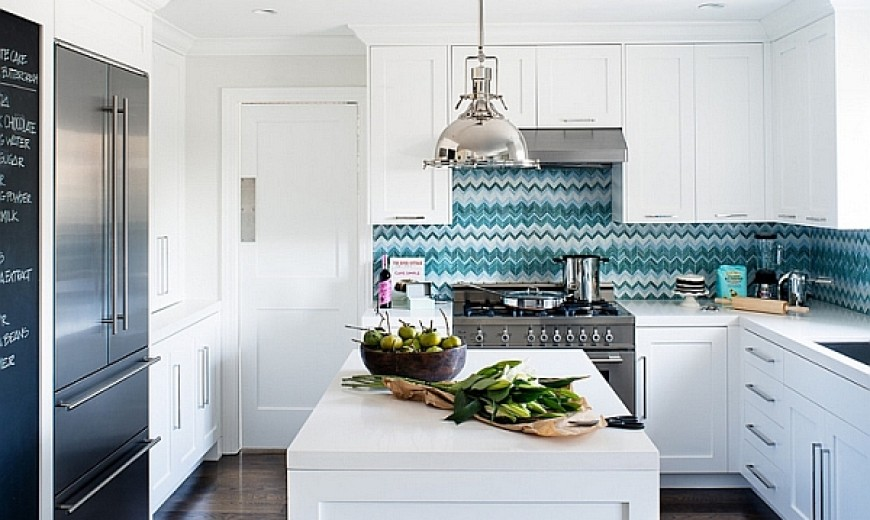 Zigzag Patterns In Kitchen Chevron And Herringbone