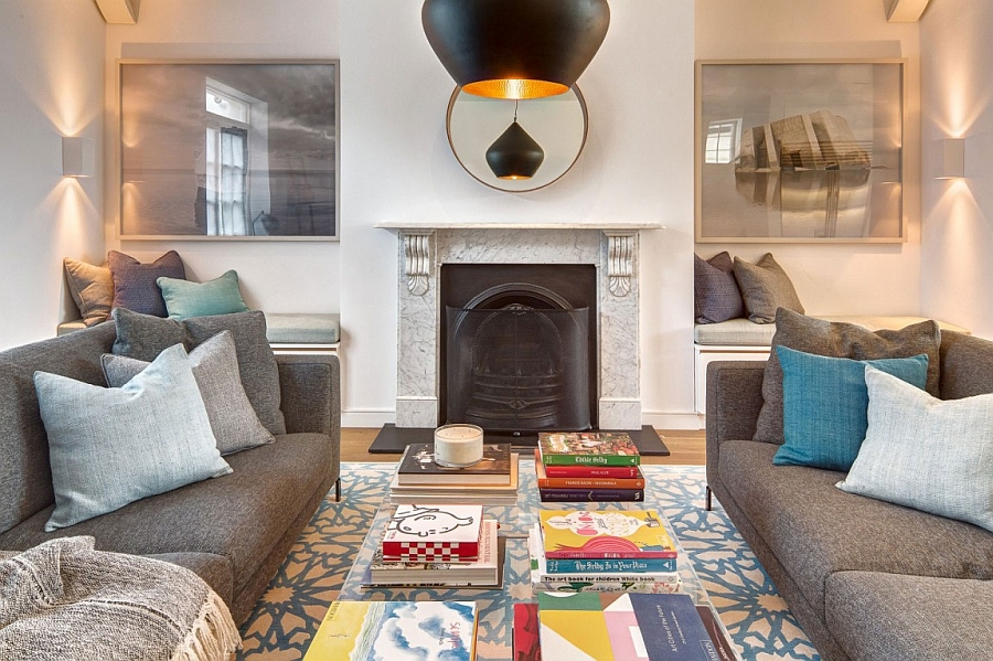 Exuberant English Home Delights With A Colorful And ...