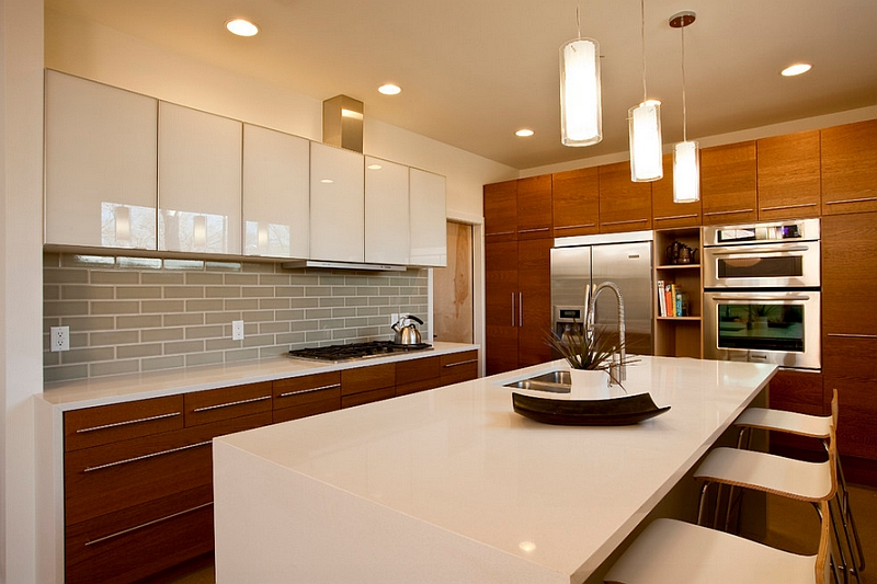 superior Interior Design Kitchens 2014 #1: View in gallery Classy contrast of textures in the kitchen. by dement  harris design