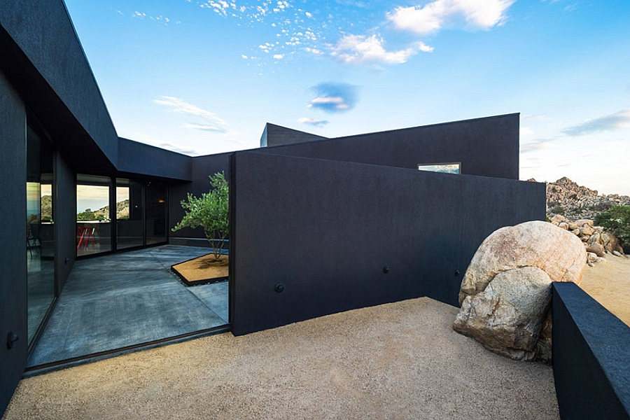 The Black Desert House