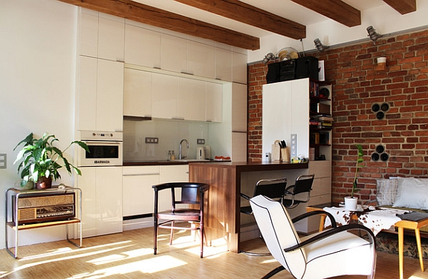 Comapct kitchen idea for a small apartment