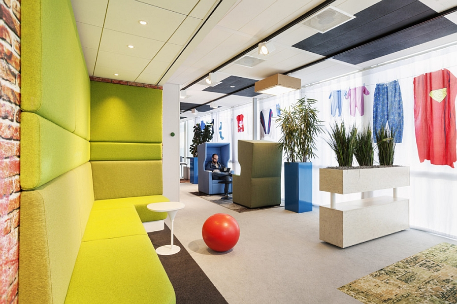 view in gallery comfy and colorful workplaces inside the google amsterdam office google office o76 the