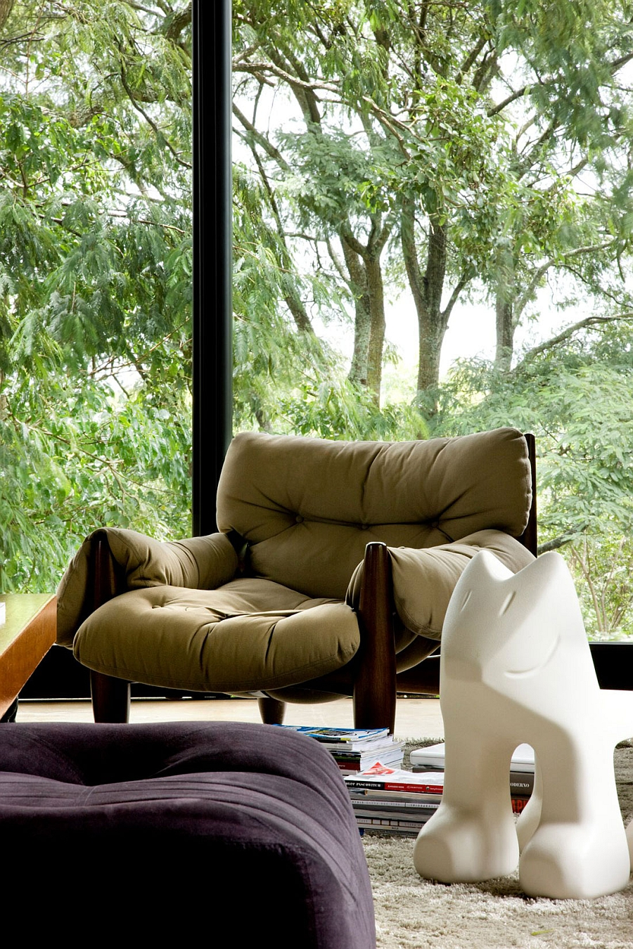 Comfy seating idea for the living room
