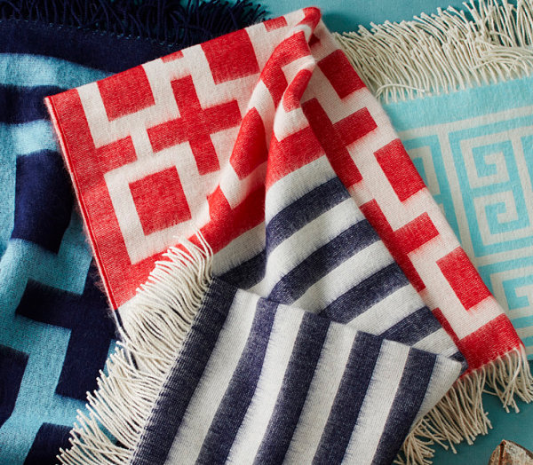 Comfy throws by Jonathan Adler