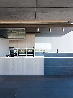 Contemporary Kitchen in stylish Sydney Residence by Minosa