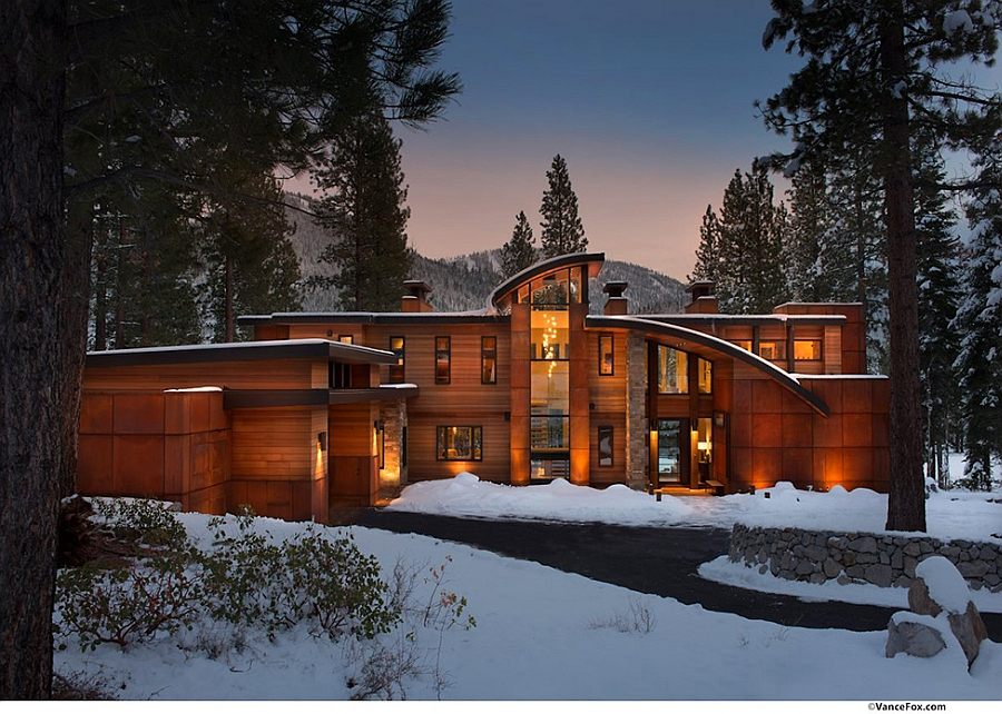 Contemporary Retreat near Lake Tahoe, California