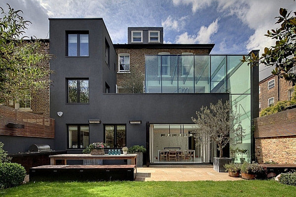 Classic Victorian House In London Gets A Grand And Glassy Extension!