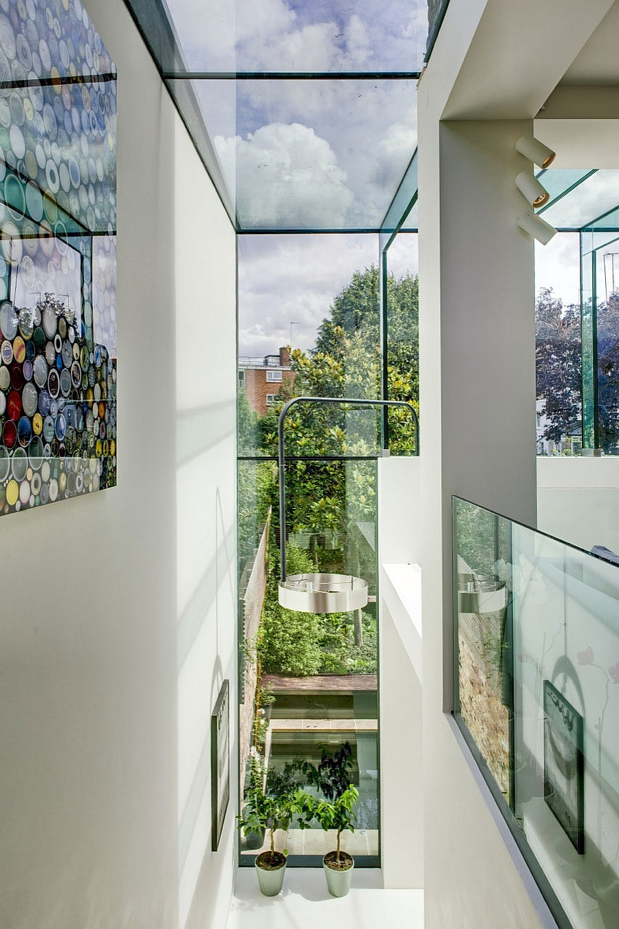 Contemporary glass box renovation