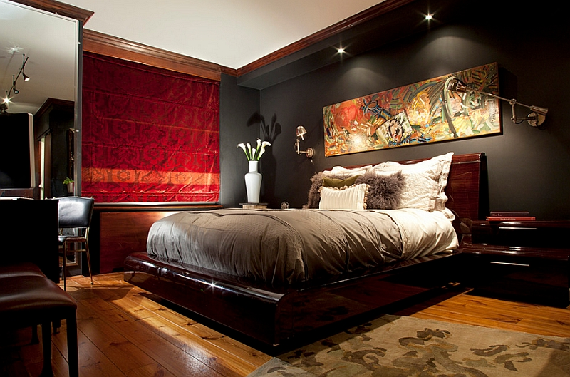 How to choose the right bedroom lighting - Mens bedroom wall art ...