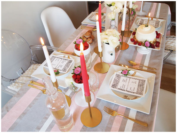 DIY Anthropologie tablecloth