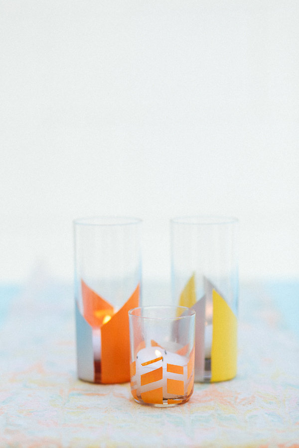 DIY painted glass votives Try These Easy DIY Decor Projects For A New Look At Home