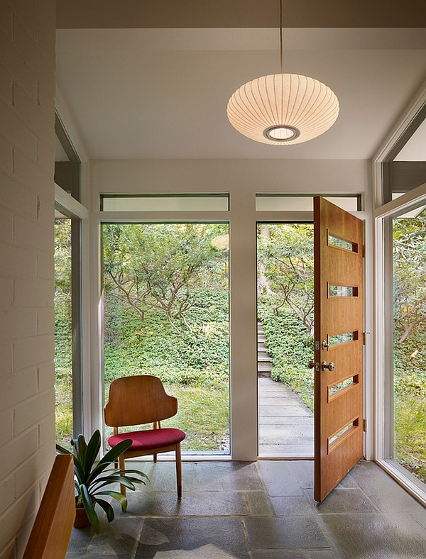 Decorate your entrance with a lovely pendant light