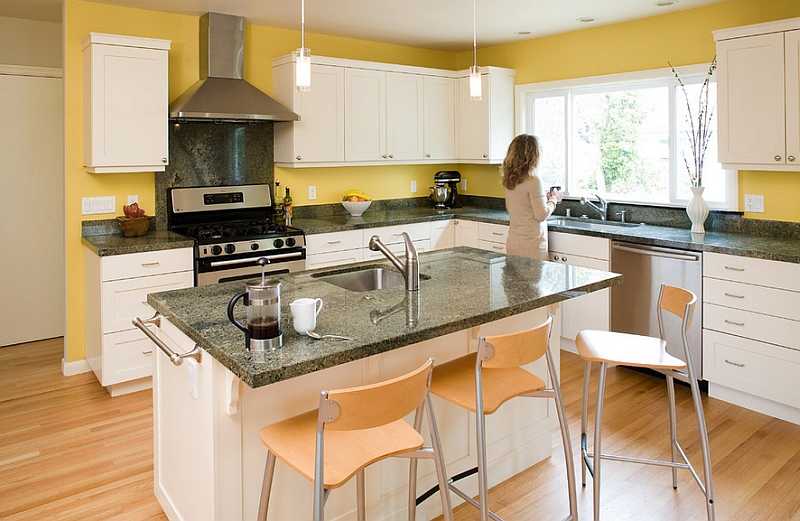 Kitchen Backsplash Yellow Walls kitchen backsplash ideas: a splattering of the most popular colors!
