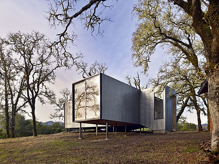 Economical home in california on stilts