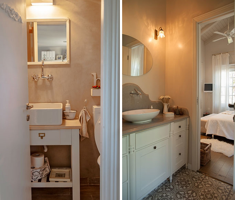 Elegant Bathroom Makeovers: Family House In Israel Gets A Contemporary Makeover With A