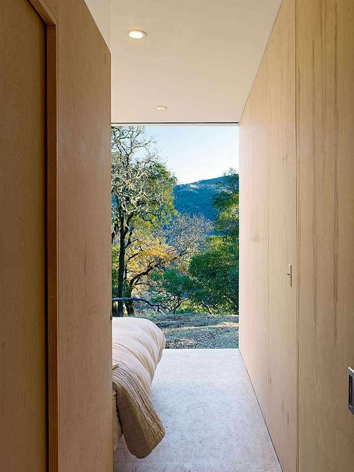Enjoy the sweeping views outside