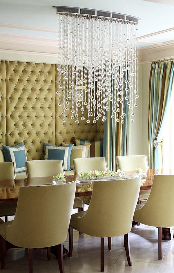 Exquisite chandelier is delicate, yet imposing!