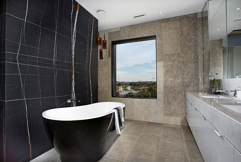 Exquisite contemporary bathroom in a Melbourne Home