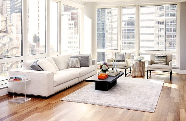 50 minimalist living room ideas for a stunning modern home for Minimalist living space