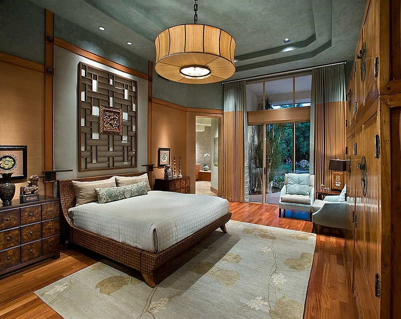 View In Gallery Exquisite Master Bedroom With An Asian Theme. By IMI Design
