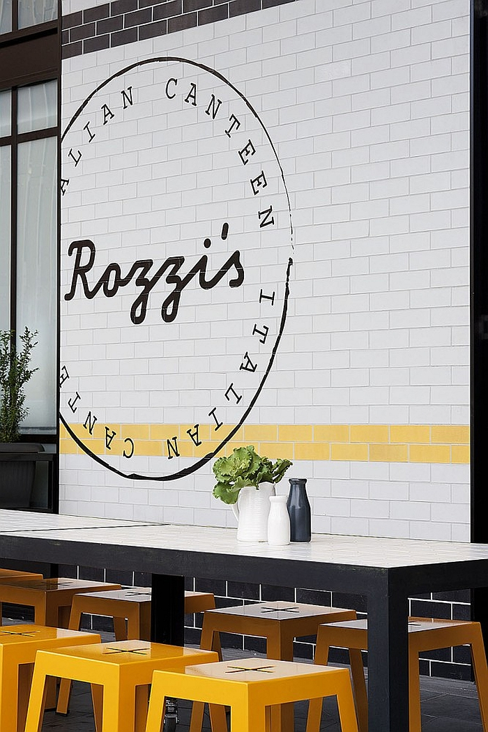 Exterior of the Rozzi's Italian Canteen in Melbourne