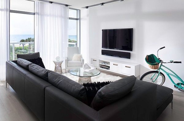 Fabulous Minimal Living Room For A Boutique Hotel Style Residence
