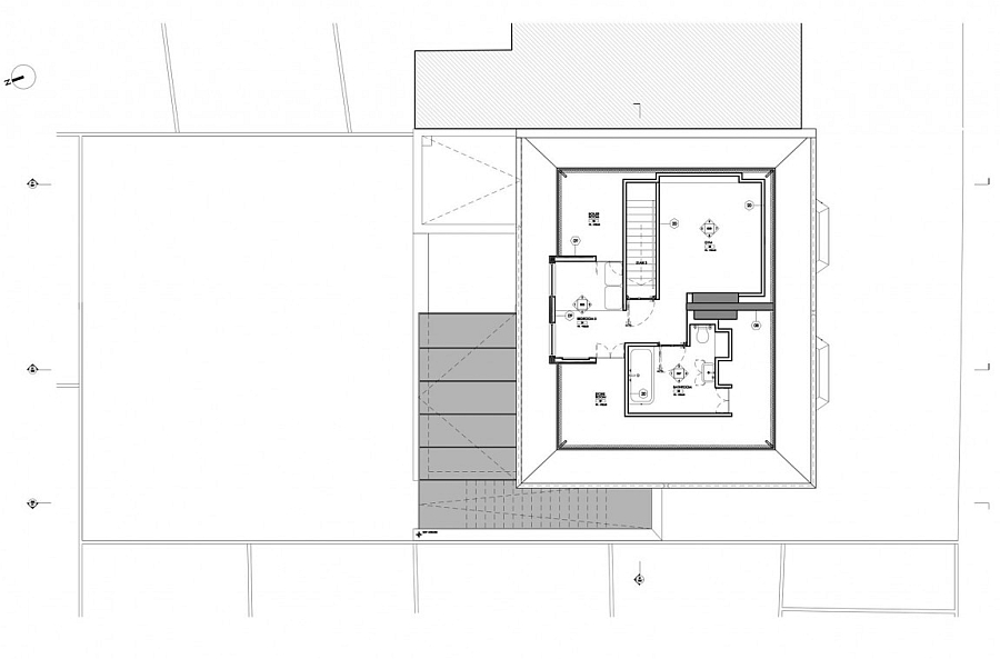 Floor plan for the london home