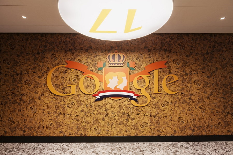 Google logo with some Dutch flavor