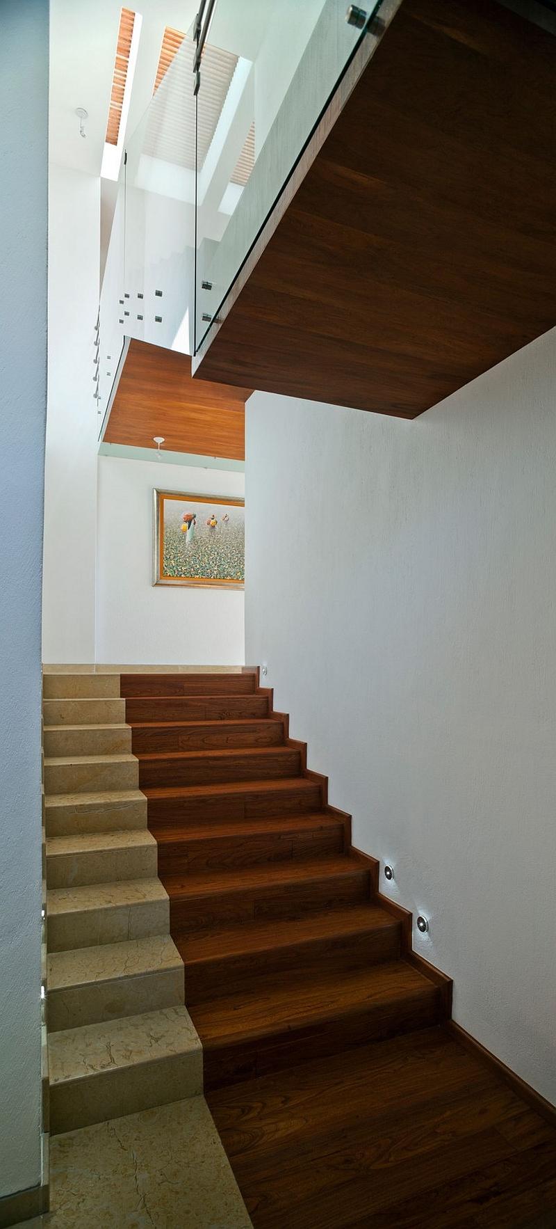 Goregous modern staircase design