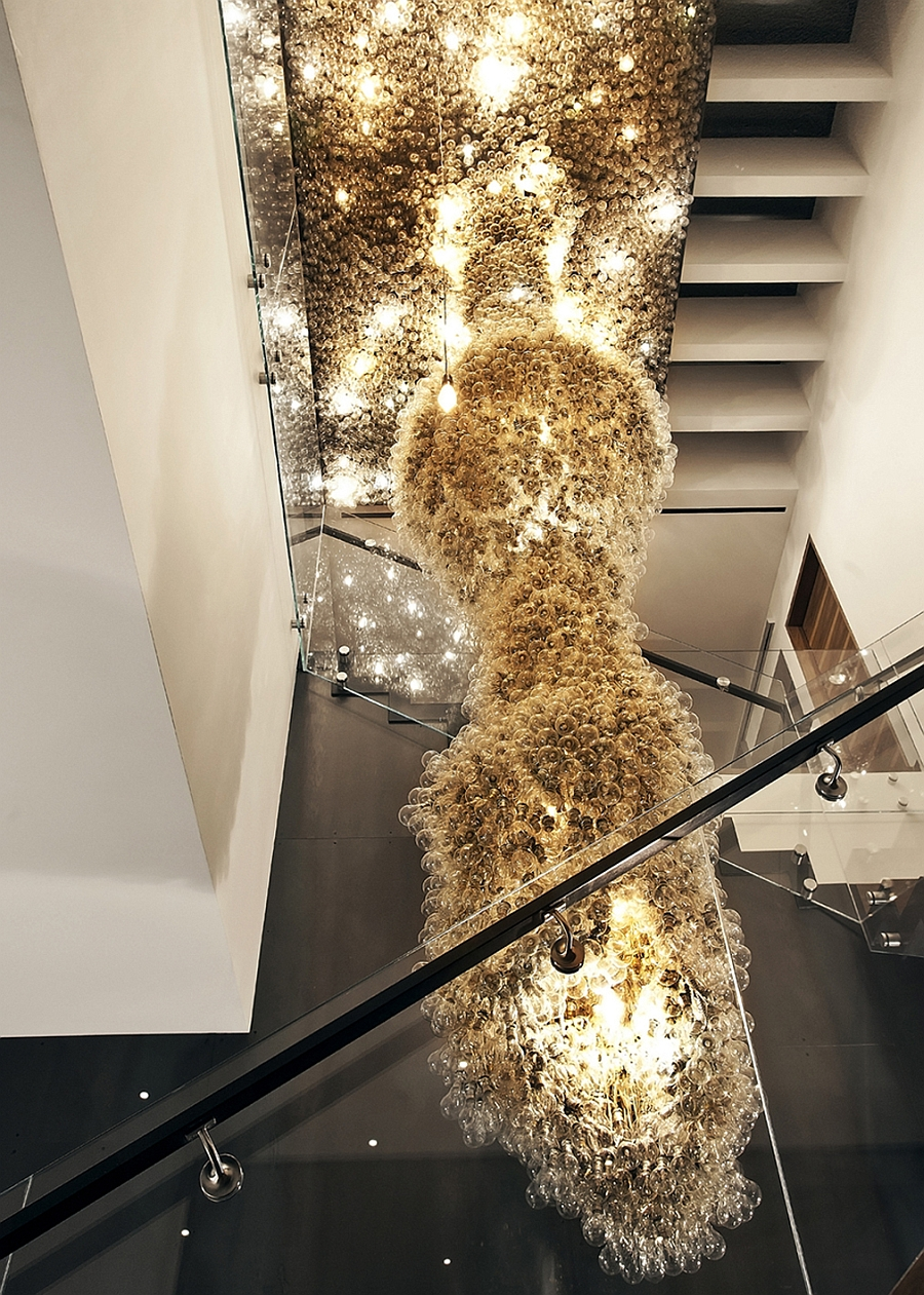 Gorgeous and extravagant lighting installation