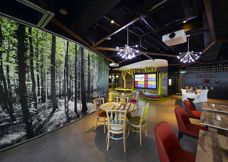 google amsterdam office. View In Gallery Gorgeous Combination Of An Industrial And Natural Look Google Amsterdam Office E
