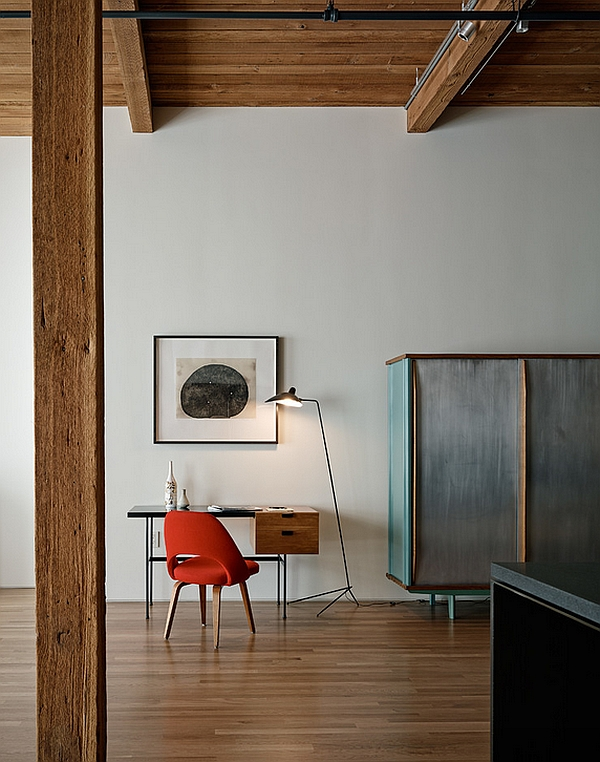 Gorgeous form of the Mouille Floor Lamp makes it ideal for industrial themes