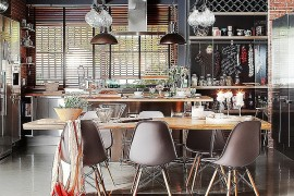 Industrial Dining Room Idea
