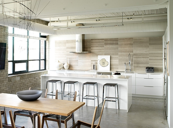 Innovative Kitchen Design That Brings Together The Industrial And The Scandinavian Styles