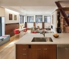 Interior of Hayden Building in Boston, Massachusetts