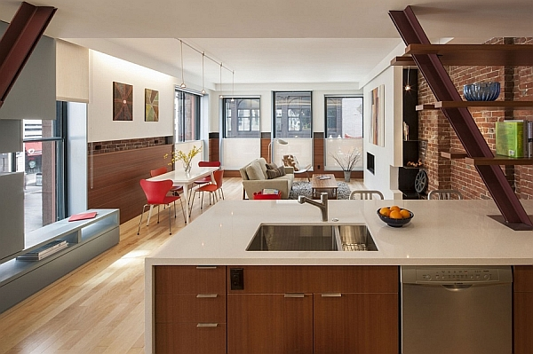 Old Office Building In Boston Transformed Into A Grand Multi-Family Residence
