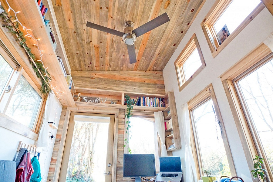 Interior of the Tiny Project House