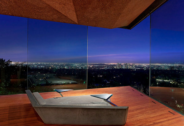 Los Angeles bedroom with a iew How To Decorate A Room With A City View
