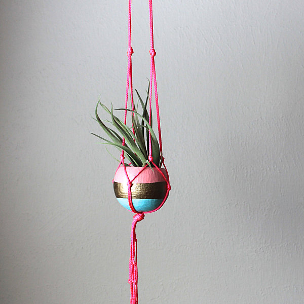 View In Gallery Macrame Hanging Planter