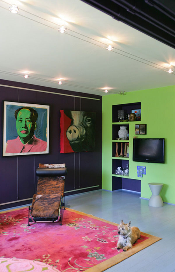 Andy Warhol Mao artwork for modern apartments