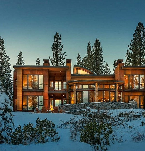 Martis Camp House by Swaback Partners
