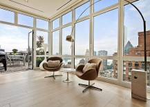 Spectacular Views And Urbane Style Shape Gorgeous New York City Apartment
