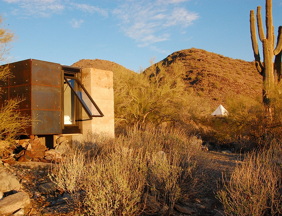 Miner's Shelter in the Arizona Desert