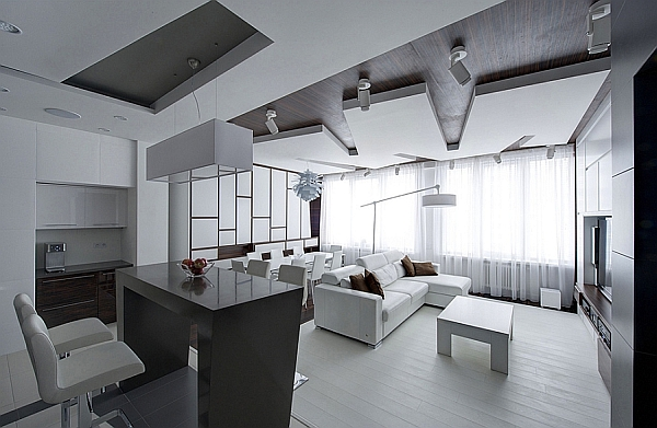 Remarkable Apartment In Moscow Combines Minimalism With Frugality!