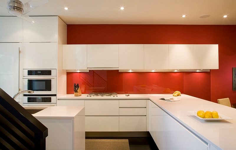 Kitchen Backsplash Red kitchen backsplash ideas: a splattering of the most popular colors!
