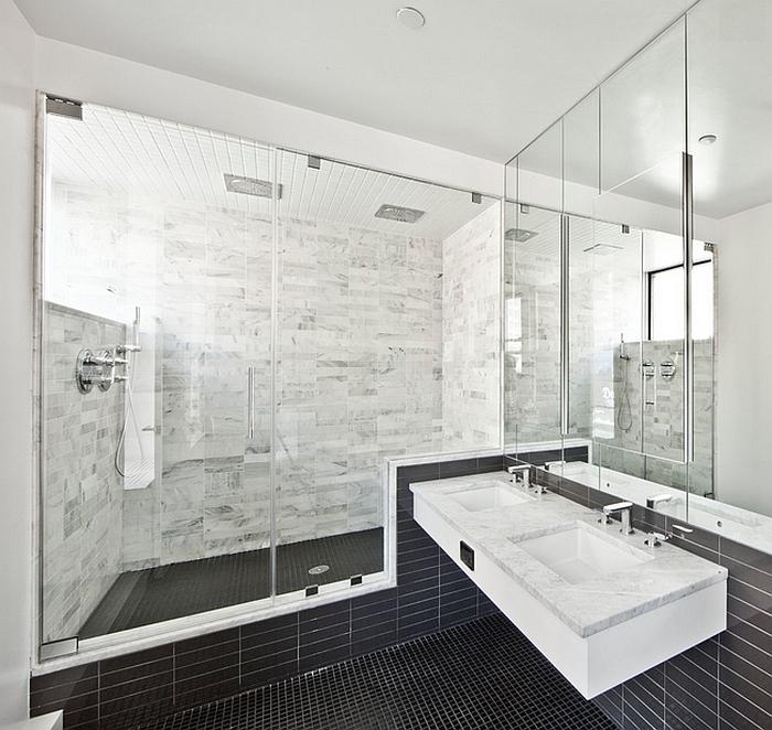 Wondrous Black And White Bathrooms Design Ideas Decor And Accessories Interior Design Ideas Ghosoteloinfo